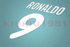 Inter Milan Ronaldo #9 2000-2001 Homekit Nameset Printing
