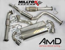 Focus ST 225 Milltek Resonated Turbo Back Exhaust Down Pipe and Sport Cat ST225
