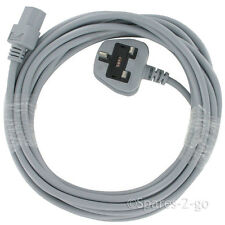 7 Metre 2 Pin Mains Cable for NILFISK Vacuum Cleaner Plug Lead 2 Core x 1.0mm