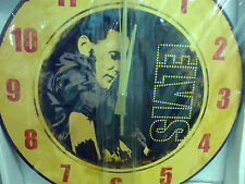 ELVIS PRESLEY WALL CLOCK VHTF