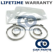 CAR ATV FITS 99% OF VEHICLES CV BOOT CLAMPS PAIR X2 CV GREASE X2