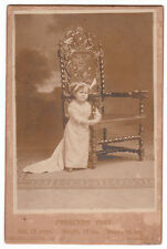 Circus Sideshow Freak Cabinet Photo Princess Tiny 21 Inches High Wendt Midget