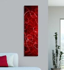 Contemporary Abstract Metal Wall Art Home Decor - Tangled Passion - Jon Allen