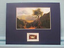 Hudson River Artist Thomas Cole  - View of the White Mountains & First Day Cover