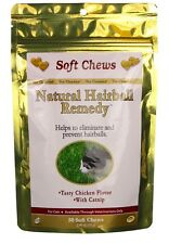 Natural Hairball Remedy Soft Chews for Cats (50 count)