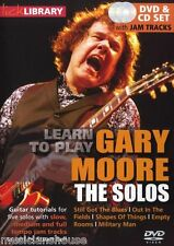 LICK LIBRARY Learn to Play The SOLOS GARY MOORE Still Got the Blues Guitar DVD