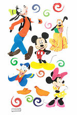Jolee's Disney MICKEY & FRIENDS Stickers MINNIE PLUTO GOOFY DONALD