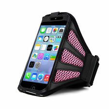 iPhone 5 Strong ArmBand Pink Cover For SPORTS GYM BIKE CYCLE JOGGING RUNNING