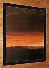 "Canyon Sunset, Joel Thompson - 20"" 16"" Frame, Raro Sunset Arte De Pared"