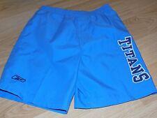Size Medium 5-6 Reebok NFL Tennessee Titans Blue Swim Trunks Board Shorts New