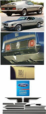 1971 - 1972 MUSTANG MACH 1 COMPLETE STRIPE KIT FORD LICENSED