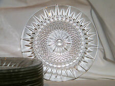 Single Cristal D'Arques-Durand USA DIAMANT SALAD/DESSERT PLATE 10 Available EX!!