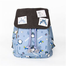 My Neighbor Totoro Tonari no Totoro Cute Shoulder Backpack School Bag PU Sa