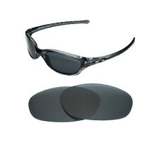 NEW POLARIZED BLACK REPLACEMENT LENS FOR OAKLEY FIVES 2.0 SUNGLASSES
