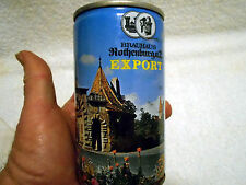 VTG Empty Pull Tab Beer Can Brauhaus Rothenburg Export Germany