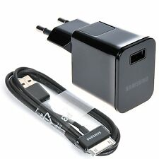 "EU Wall Travel Charger USB Cable for 7 / 7.7 / 8.9 / 10.1 "" Samsung Galaxy Tab 2"