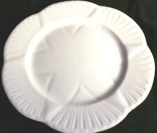 "Shelley Fine Bone China Regency Dainty White Gold -  8"" Salad Plate"