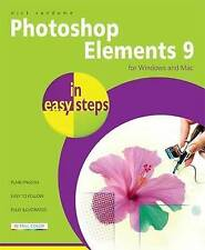 Photoshop Elements 9 In Easy Steps,Vandome, Nick,Very Good Book mon0000063729