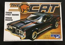 MPC The Cat MERCURY COUGAR STREET MACHINE 1:25 Scale Model Kit
