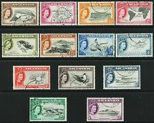 ASCENSION ISLANDS 1956 COMPLETE SET FINE USED. SG57/69