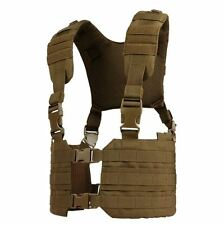 CONDOR MOLLE Modular  Tactical Nylon Ronin Chest Rig Vest mcr7-498 COYOTE BROWN