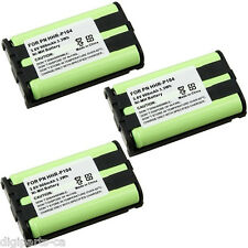 3X For PANASONIC Cordless Phone HHR-P104 Ni-MH Battery 900mAh