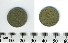 France 1923 - 50 Centimes Aluminum-Bronze Coin - Chamber of Commerce