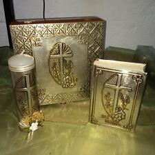 BIBLIA Y VELA PARA PRIMERA COMUNION FIRST COMMUNION SPANISH BIBLE AND CANDLE