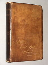 Pictures in PROSE of NATURE, WILD SPORT & HUMBLE LIFE (1894 1st) Naturalist book