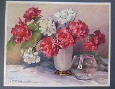J. Philippe   -  Nicolas Markovitch -  Oeillets (Carnations)