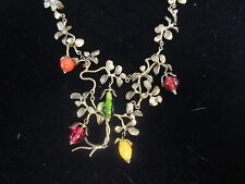 "Michael Michaud Tree of Life Necklace with Glass Beads 8145 17"" Not Incl. Drop"