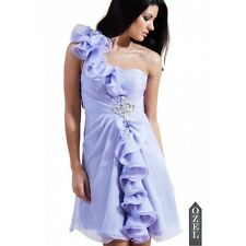 FOREVER UNIQUE ANGIE LILAC CUT OUT EMBELLISHED PROM DRESS 14 42 £220!