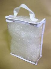 TWO WAY TRAVEL ZIP BAG CLEAR AIRPORT TRANSPARANT LIQUID TOILETRIES HOILDAY NEW