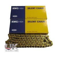 2 x PREMIUM BRAND KMC 106 LINK 219 G/G KART RACING CHAINS UK KART STORE