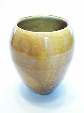 Vintage Glazed/Thrown Studio Pottery Vase - Signed - Canada - Late 20th Century