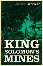 HAGGARD,RIDER-KING SOLOMON`S MINES BOOK NEW