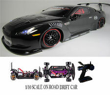 NISSAN GT-R Fully Custom 1/10 Scale Remote Control On-road  Drift Car