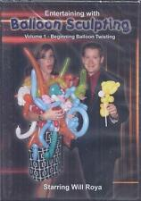 DVD:  ENTERTAINING WITH BALLOON SCULPTING VOLUME 1......WILL ROYA .......NEW