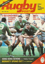RUGBY POST May 1985 ENGLAND MAGAZINE