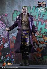 JOKER Suicide Squad PURPLE COAT Hot Toys 1/6 Figure jared leto UK SHIPPED