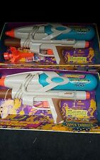 2 Super Soaker Super Charger 400 Water Gun in Package Larami Vintage 1998