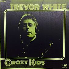 "TREVOR WHITE Crazy Kids 7"" TEST PRESSING 45 JOOK SPARKS Junkshop Glam Power Pop"