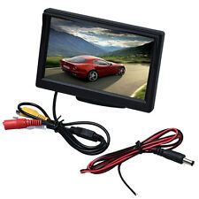 5 Inch High Resolution HD 800X480 Car TFT LCD Monitor Screen 2CH Video US
