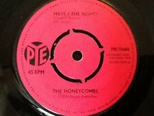 THE HONEYCOMBS . HAVE I THE RIGHT ? . RGM PRODUCTION . 1964 . U.K. No.1 HIT