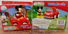 NEW Disney Mickey Mouse Clubhouse Red MICKEY'S TOY CAR & Figurine 2-Pc Play SET!