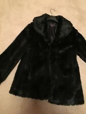 ladies pied a terre faux fur coat