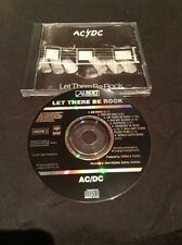 AC/DC LET THERE BE ROCK CD AUSTRALIA EARLY PRESS BLACK ALBERT 465256 2  SONY