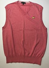 Men's Augusta National Golf Cashmere Blend Masters Sweater Vest XL