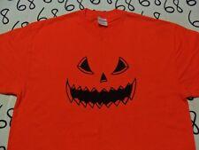 XL- Halloween Pumpkin Spooky T- Shirt