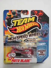 TEAM HOT WHEELS 2011 HIGH-SPEED  WHEEL MOTO BLADE WHITE WHEELS